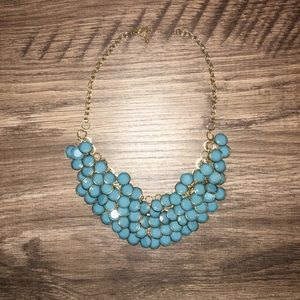 Turquoise & Gold Necklace